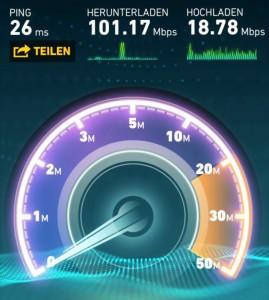 Speedtest Hybrid 50 DSL 50 LTE - 1